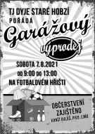 Garážový výprodej 2021